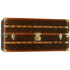 Antique 20th Century Louis Vuitton Wardrobe Trunk, circa 1930
