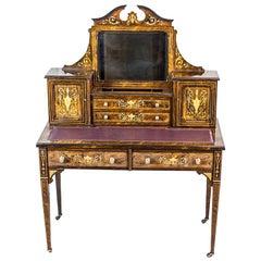 19th Century Lady's Desk Veneered with Rosewood