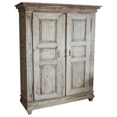 Rare Antique Gustavian Cupboard