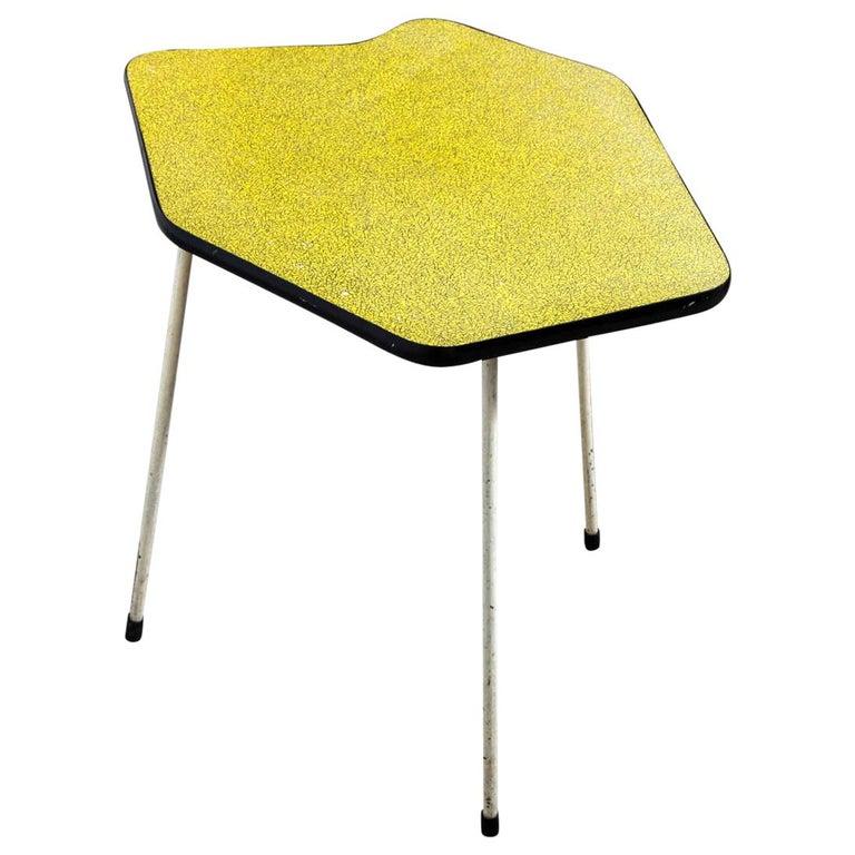 1950s Side Table in Style of Willy Van Der Meeren for Tubax, Belgium