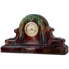 Art Deco Ceramic Clock