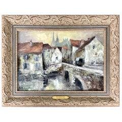 """""""Village in France"""" by William Clochard"""