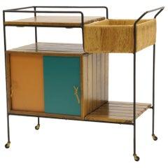 Portable Bar Cart on Casters by Arthur Umanoff
