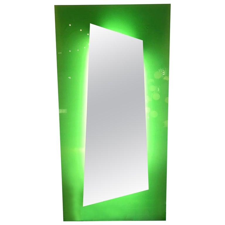 Lightning Mirror by Nanda Vigo for Glass Italia, Italy, 2008