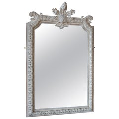 Rare Antique English Wall Mirror