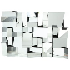 """""""Slopes"""" Mirror by Neal Small, circa 1970s"""
