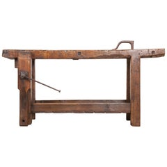Petite 19th Century French Workbench