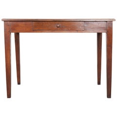French Late 19th Century Oak Writing Desk  Table