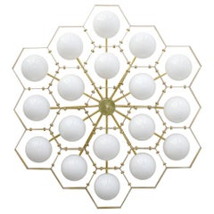 Honeycomb Flush Mount