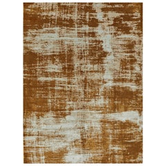 Schumacher Sherab Area Rug in Hand-Knotted Wool & Silk by Patterson Flynn Martin