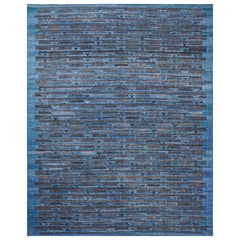 Schumacher Ruben Area Rug in Hand-Woven Viscose by Patterson Flynn Martin