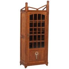 Dutch Oak Art Nouveau Arts & Crafts Bookcase by Prins Culemborg, 1900s