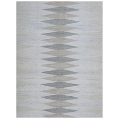 Schumacher Avesta Area Rug in Hand-Woven Viscose by Patterson Flynn Martin