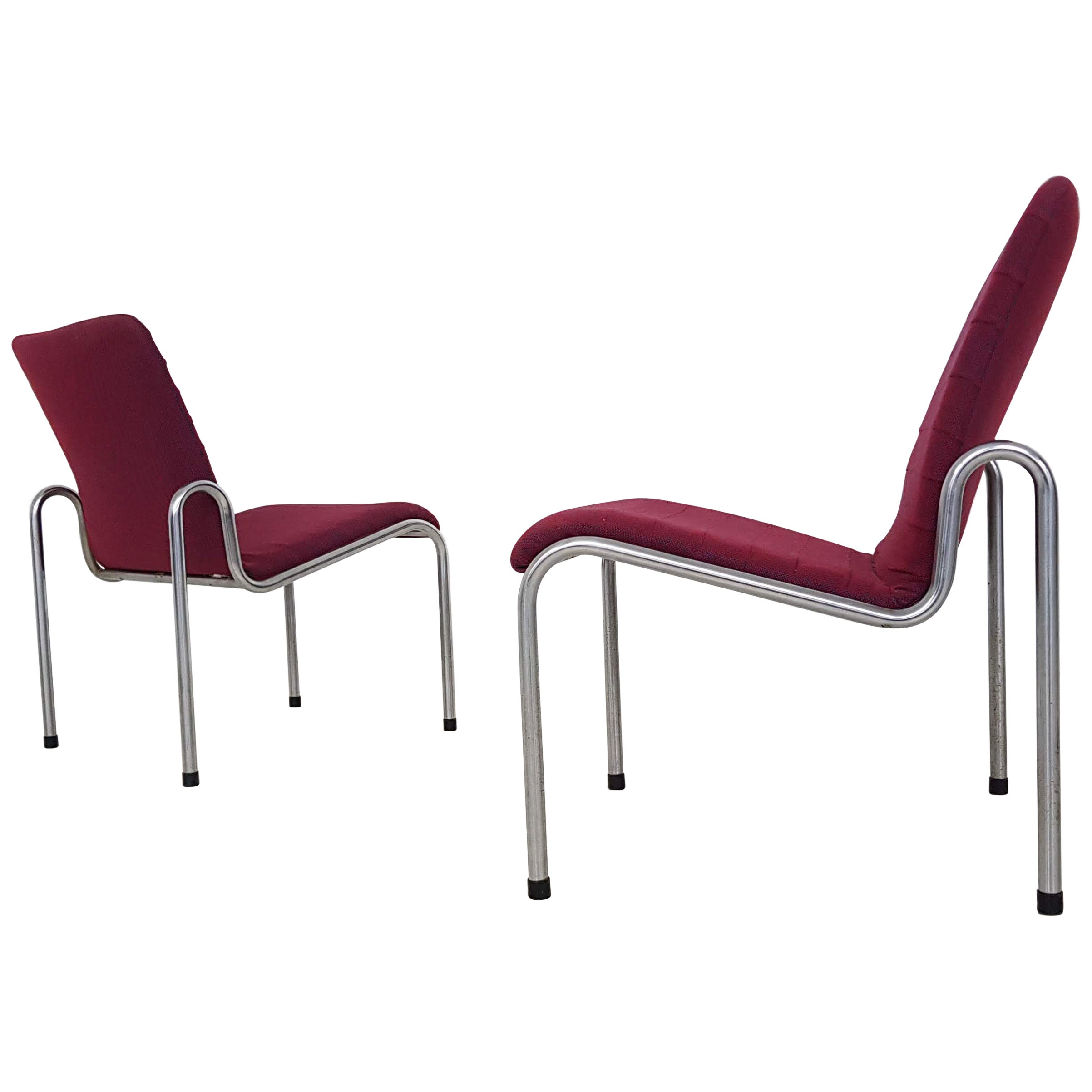 Kho Liang Ie for Stabin Lounge Chairs Model 703, the Netherlands, 1968