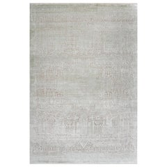 Schumacher Kobe Area Rug in Hand-Knotted Wool & Silk by Patterson Flynn Martin