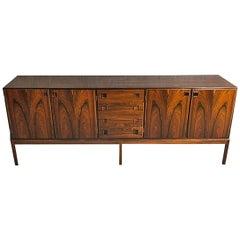 Rosewood Sideboard by Bernhard Petersen Danish Mid-Century Modern