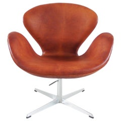 Early Edition Swan Chair by Arne Jacobsen for Fritz Hansen, Denmark, 1975