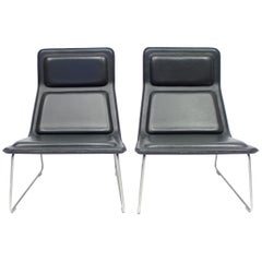 Low Pad Chairs by Jasper Morrisson for Cappellini, 1999, Set of 2