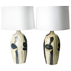 Pair of Soholm Lamps, Denmark, 1970