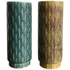 1960s Gunnar Nylund Scandinavian Midcentury Vases for Rörstrand