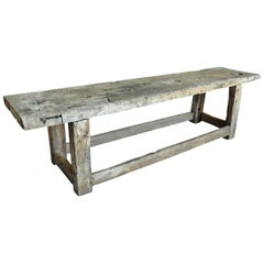 Primitive Early 19th Century Etabli - Work Bench