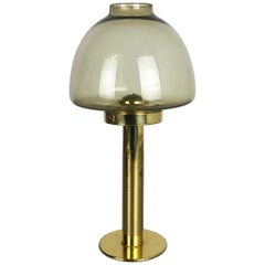 "1960s Brass and Glass ""Claudia"" Candleholder Made by Hans-Agne Jakobsson"