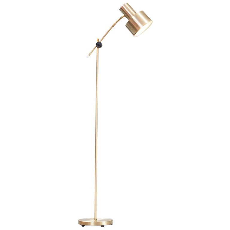 Mid-Century Modern Adjustable Floor Lamp