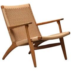 CH25 Lounge Chair by Hans J. Wegner for Carl Hansen & Son