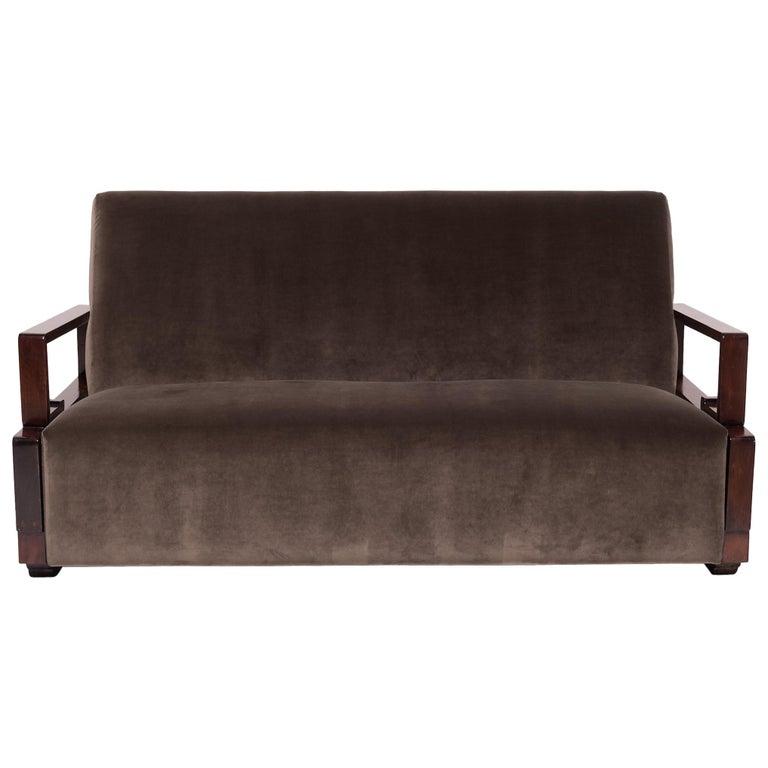Chinese Art Deco Sofa