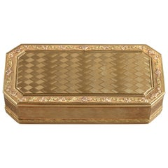 Gold Snuff Box, Late 18th Century