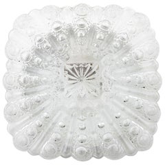 One of Three Bubble Glass Sconces or Flush Mount Lights, 1970s