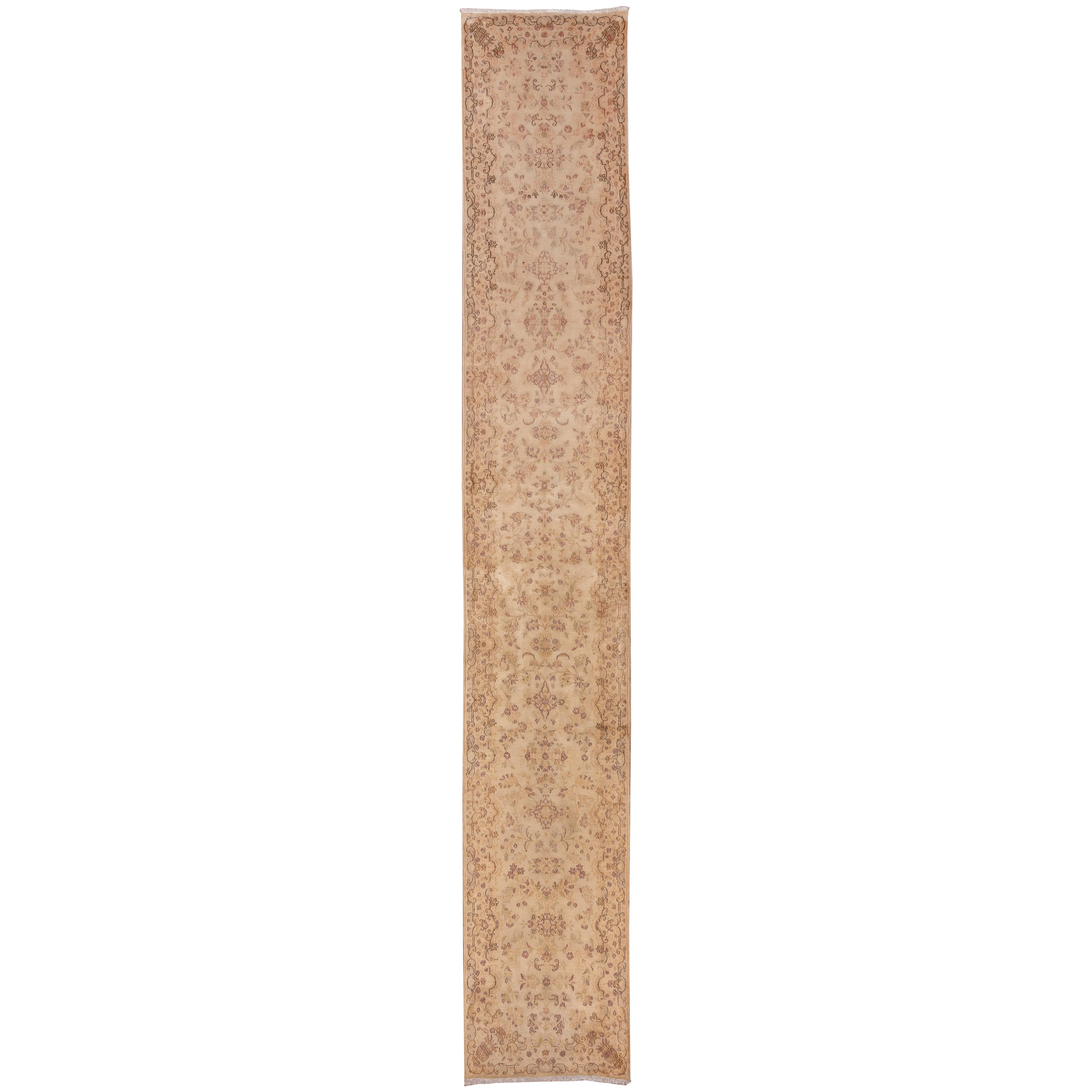 Narrow Antique Kerman Runner