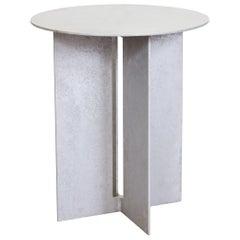 Mers Side Table in Salt Pack Aluminum
