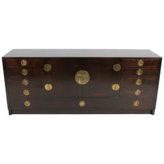 Edward J. Wormley for Dunbar Asian Inspired Sideboard, circa 1950s