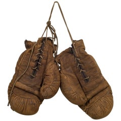 Leather Junior Boxing Gloves by A.J. Reach Company, circa 1874-1934