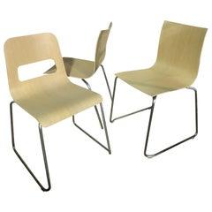Set of Three LaPalma Thin and Hole Chairs