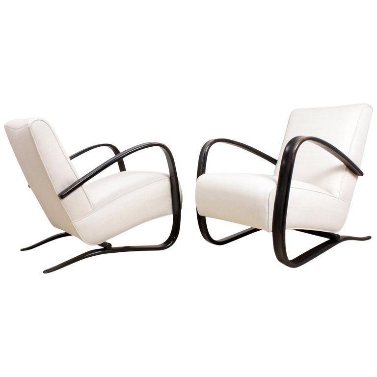 Halabala Armchairs H269 For Sale