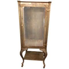 Vintage Steel and Glass Medicine Cabinet