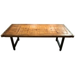 Rustic Industrial Belgian Pallet Coffee Table