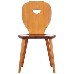 Mid Modern Scandinavian Visingsö Chairs in Pine by Carl Malmsten