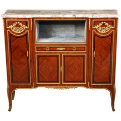 """Louis XVI Style """"Meuble d'Appui"""" Attributed to P. Sormani"""