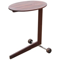 Mid-Century Modern Scandinavian Occasional Table in Walnut