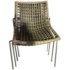 Set of Six Chylium Stackable Chairs by Bonacina Pierantonio