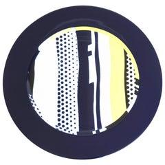 Roy Lichtenstein Porcelain Plate by Rosenthal, 1990