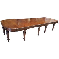 Large 19th Century Mahogany Table