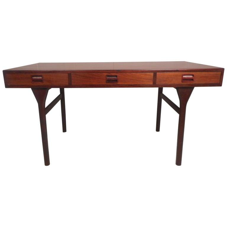 Nanna Ditzel Rosewood Writing Desk by Søren Willadsen Mobelfabrik