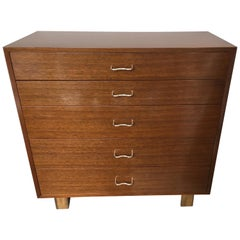 Herman Miller George Nelson Five Drawer Dresser Chest Drawers Basic Series 1952
