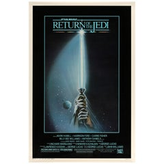 'Return of the Jedi' US Film Poster, 1983