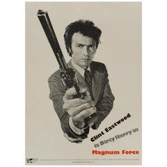 'Magnum Force' US Film Poster, 1973