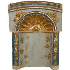 Large 18th Century, Italian Giltwood Baroque Altar